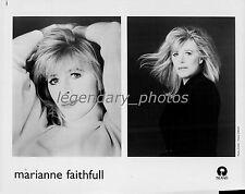Marianne Faithfull Island Original Music Press Photo