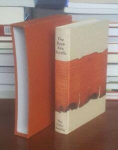 The Dead Sea Scrolls Folio Society Deluxe Hardcover in Slipcase