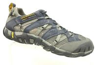 Merrell Gray Mesh Athletic Sport Lace Up Trail Running Water Shoes Men's 8
