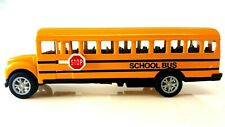 5 inch Yellow school bus Die cast pull back metal Toy 5""