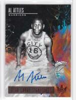 2018-19 Al Attles Auto #/99 Panini Court Kings High Court Signatures
