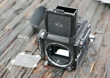 Mamiya m645 1000s carcasa with Sport Finder framelines and WLF