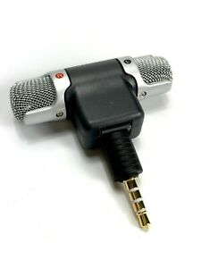 External Stereo Mini TRRS 3.5mm Microphone Personal Smartphone Mobile Cell Phone
