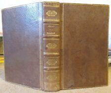 POESIES & LETTRES DE MALHERBE 1822 JANET ET COTELLE RELIURE PLEIN CUIR DE RUSSIE