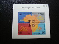 TOGO - francobollo yvert e tellier blocco n° 6 n (Z11) stamp