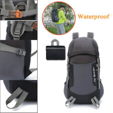 Folding Bags Hiking Backpack Waterproof Shoulder Pack Outdoor Camping Portable