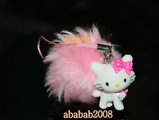 Yujin Sanrio Charmmy Kitty Pink hairball strap figure gashapon ( one figure )