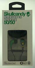 Skullcandy Supreme Sound 50/50 11mm Earbuds in Rasta with Mic