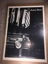 JAMES DEAN RARE BLACK & WHITE POSTER Pomegranate Publications  by Sanford Roth