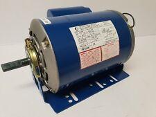 CG B56 1.5Hp 1.1kW 4P ODP B3 Resilient Mount 1 Ph 240v 5/8 Shaft Electric Motor