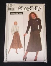 Simplicity/Jones New York 8854: Blouse, Skirt & Lined Jacket - size 16 uncut