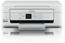 Epson XP-345 All-in-One LCD WiFi Printer - White+INKS