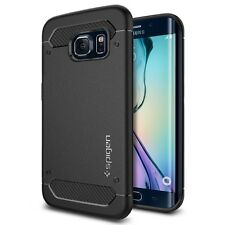 SPIGEN Galaxy S6 bordo caso ULTRA Rugged capsula NERO (PET)