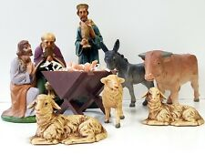 Krippenfiguren Weihnachten Masse Figur Krippe Jesus Heilige König Signatur