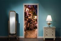 Door Mural Harry Potter Diagon Alley View Wall Stickers Decal Wallpaper 308