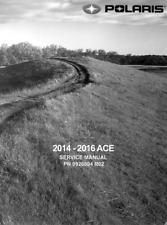 DIGITAL Polaris 2014 2015 2016 Sportsman ACE 570 & 570 / 900 SP service manual