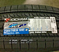 4 New 255 70 16 Yokohama Geolandar H/T G056 Tires