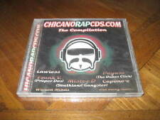 Chicano Rap Cd the Compilation - Mister D Weasel Lawless Proper Dos Point Blank