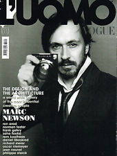 L'UOMO VOGUE #390 04/2008 MARC NEWSON Rem Koolhaas ZAHA HADID Paolo Roversi EXCL