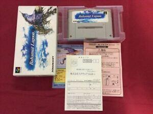kh2015 Super Famicom SNES Bahamut Lagoon JP import Japan