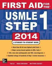 First Aid for the USMLE Step 1 2014 (Brand New) Free Shipping