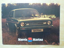MORRIS MARINA 2 RANGE 1978-79 UK Mkt Sales Brochure - 3327