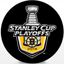 Boston Bruins NHL 2018 Stanley Cup Playoffs Lock-Up Souvenir Hockey Puck