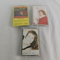 Lot of 3 Amy Grant Music Cassettes Home For Christmas House Of Love Never Alone
