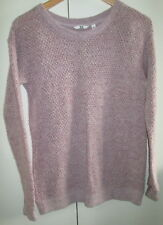 Ladies Uni Qlo Size S Knit jumper Long Sleeve Light Weight