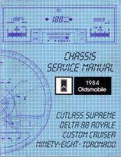 1984 Cutlass Custom Cruiser 88 98 Torondao Shop Service Repair Manual Guide Book