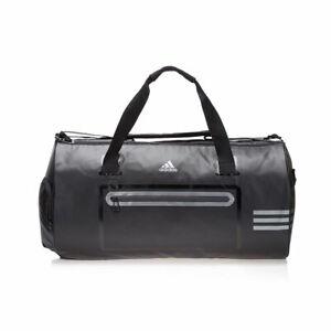 Adidas Originals Climacool Black Silver Medium Team Duffel Gym Bag S18198
