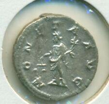 Caracalla 198-217 Denarius XF Antoninus Pius Aug Germ Moneta