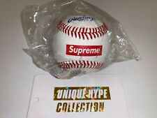 New listing SUPREME 2012 S/S RAWLINGS BASEBALL BOX LOGO BALL WORLD FAMOUS MLB WHITE