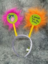 Colorful Lorax Project Fun Colorful Truffula Tree Costume Boppers Headband Anime