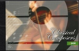 Ireland 2009 - Booklet - Composers - Mozart - Handel - Chopin - Haydn - MNH