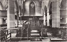 Pulpit & Tomb Of Robert The Bruce, The Abbey, DUNFERMLINE, Fife RP