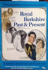 Princess Diana Royal Berkshire Past & Present Magazine Wedding 1981