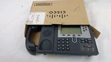 Cisco CP-7960 VOIP IP POE Phone W HandSet (Refurbished) 7960 Series