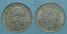 Cina 10 Cents 1914/3° Repubblica qSpl