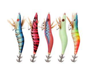 Señuelo de Pesca Jibionera Jib calamar sepia tinta Señuelos 3.0 -   15 Gramos