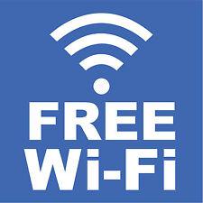 """Free Wifi Sign 8"""" x  8"""""""