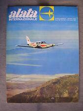 ALATA INTERNAZIONALE #  8 - RIVISTA AERONAUTICA - AGOSTO 1964 - BUONO