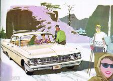 1961 MERCURY Full Line Brochure:METEOR,600,800,MONTEREY,STATION WAGON
