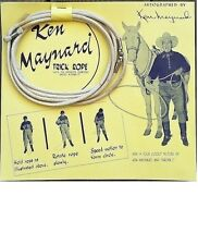ORIGINAL KEN MAYANRD TRICK ROPE, COMPLETE IN ORIGINAL PACKAGE