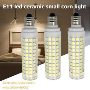 E11 mini LED ceramic Bulb Warm White AC 110V 10W=100W halogen lamp Lighting