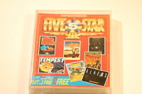 Amstrad - CPC 464/664/6128  FIVE  STAR  lll 7 GAMES PACK BY BEAU-JOLLY 1987