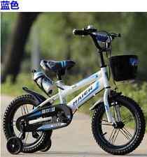 "Blue Kids Luxurious  Bike / Bicycle For Boy's & Girls  Sizes 12"" 14"" 16""18""20"""