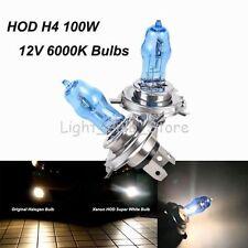 H4 HOD Halogen Light Bulbs Xenon Fog Lamp For Honda Hyundai 100W 12V 6000K White