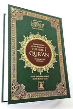 The Quran: The Noble Quran Arabic Text /English Translation-Large-HB-White pages