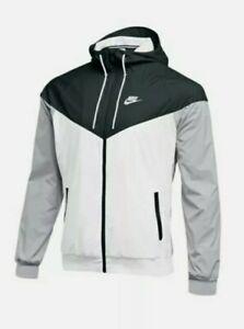 Nike Sportswear Windrunner White/Black/Gray Men's Sz XS NEW 898730-012